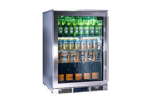 Réfrigérateur porte vitrée pour cuisines d'extérieur