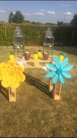Mesa com pernas
