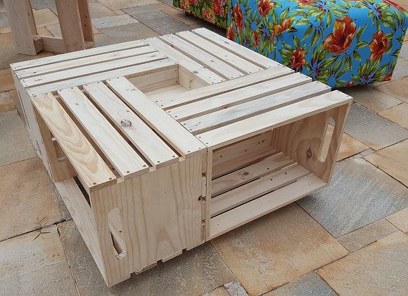 Mesa de centro caixotes