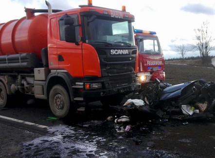 Verkehrsunfall mit Menschenrettung (T2)