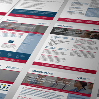 Focus Pointe Global Sales Sheets