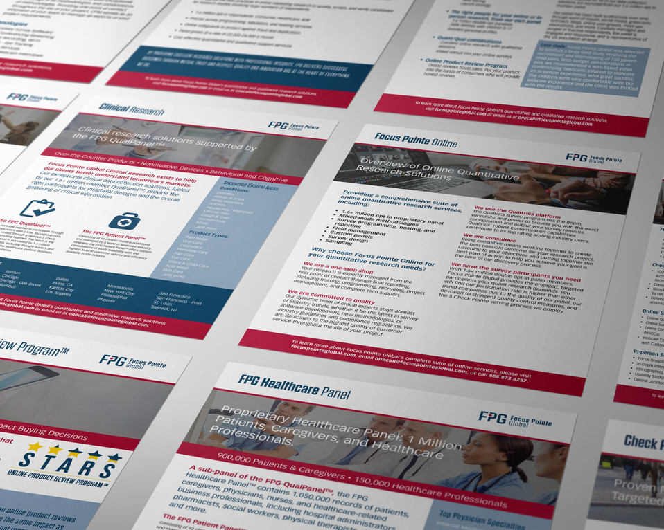 FPG Sales Sheets