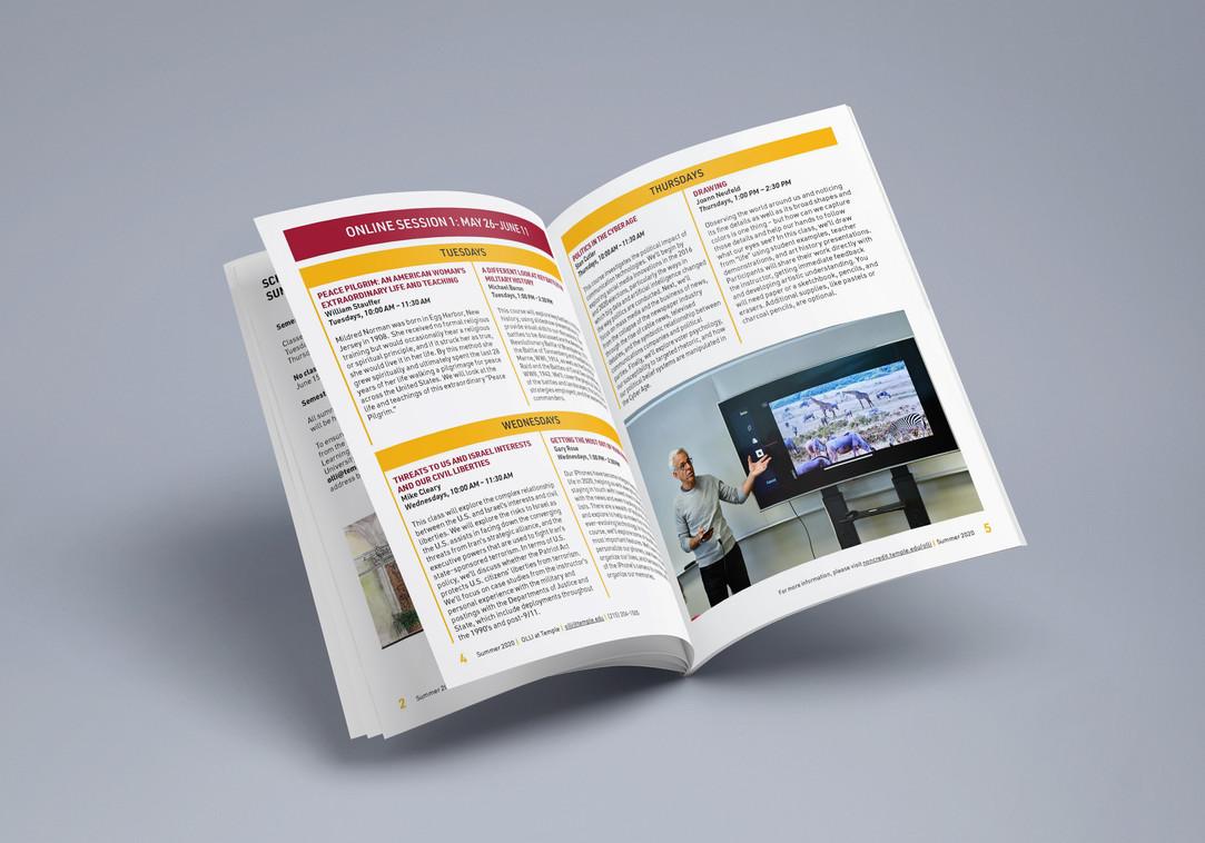 The Osher Lifelong Learning Society's Summer 2020 Digital Brochure