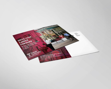 Real Estate Institute's Continuing Education Post Card