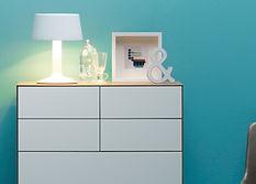 LAUKI chest of drawers