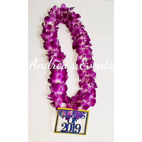 Double Strand Fresh Orchid Leis