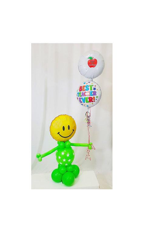 Custom Teacher Balloon Arrangement