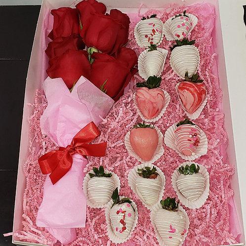 Red & Pink Large Box