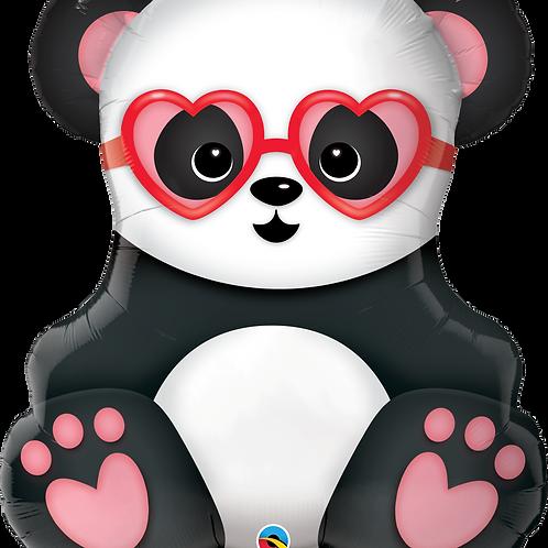 Large Lovestruck Panda Bear