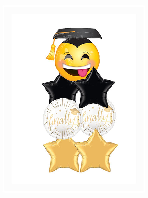Graduation Balloon Bouquet #3