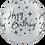 Thumbnail: 3 FT Round Birthday Sparkles & Swirls