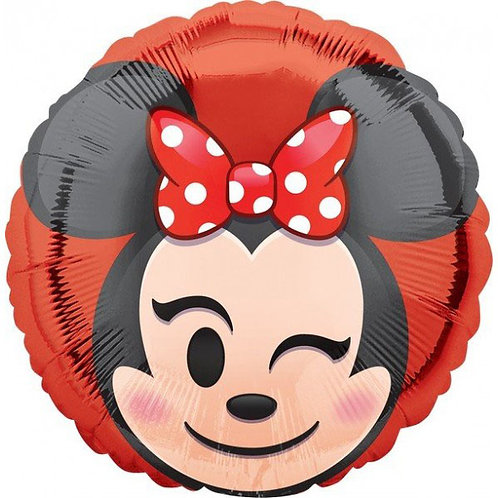 "18"" Minnie Mouse Wink Round Balloon"