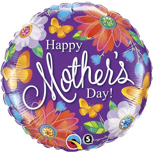 Botanical Happy Mother's Day Balloon