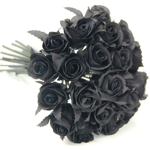Black Roses Arrangement