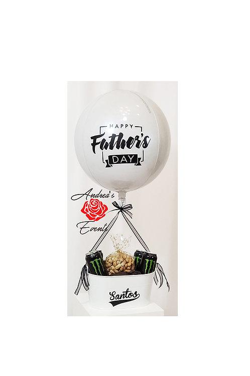 Happy Father's Day Sphere Balloon Arrangement