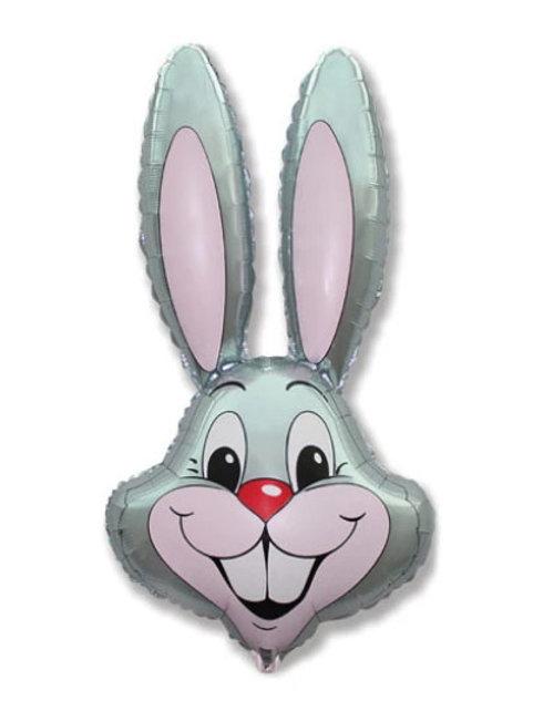 "35"" Grey Rabbit"