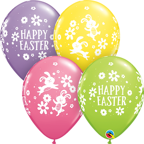 Easter Bunnies & Daisies
