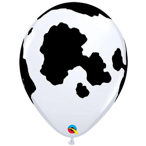 """11"""" Holstein Cow Qualatex Balloon"""