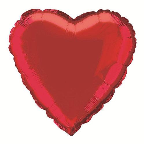 "18"" Red Heart Balloon"