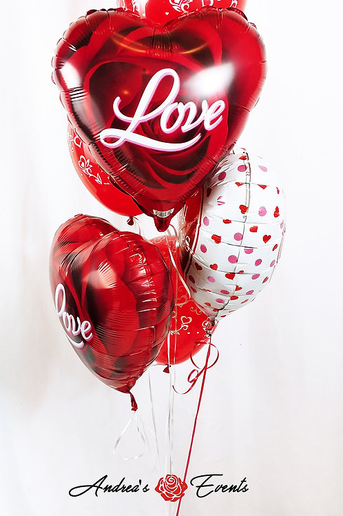 Hearts Balloon Bouquet