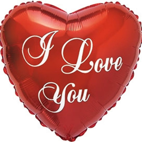 "28"" Large I Love You Heart Balloon"