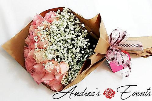Kraft Paper Bouquet