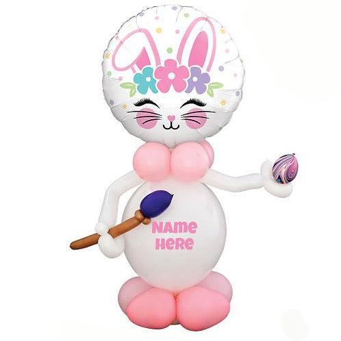 4-5 ft Artistic Bunny Balloon Sculpture