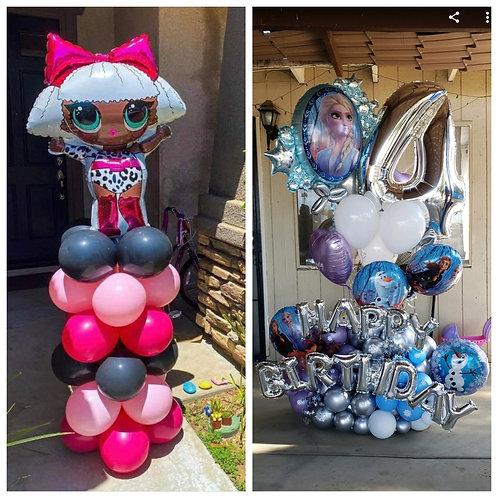 Custom order for Jenna turning 4