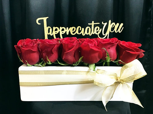 """""""Any Occasion"""" Fresh Roses Arrangement"""