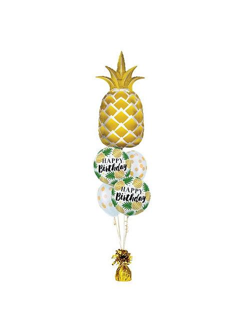 Tropical Birthday Bash Balloon Bouquet