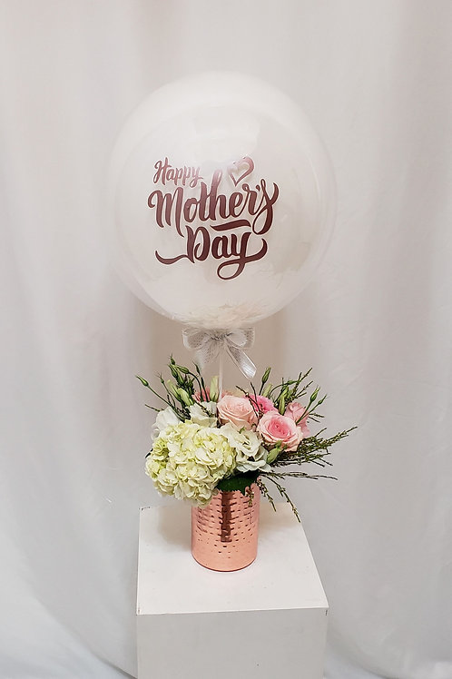 Rose Gold Happy Mother's Day Arrangement