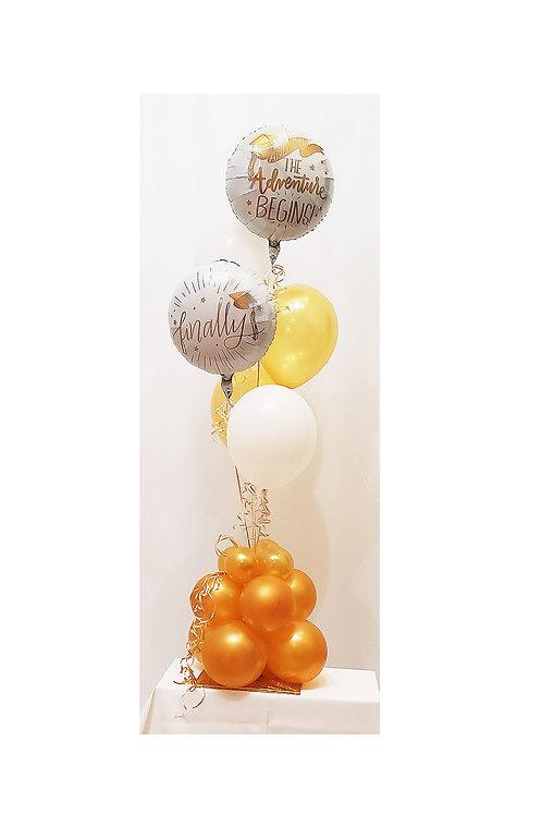 5 ft Graduation Balloon Design #13