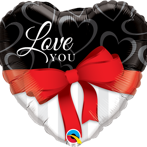 Love You Red Ribbon (Large)