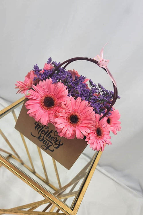 Pink Daisies Happy Mother's Day arrangment