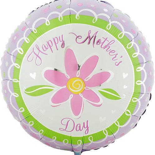 Happy Mother's Day Daisy Balloon