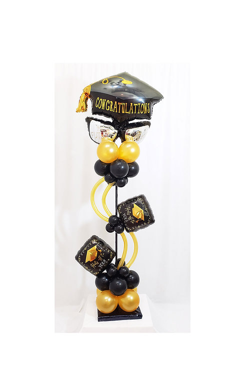 7 ft Graduation Balloon Column Design #8