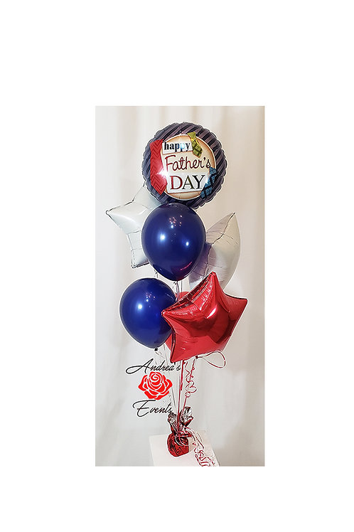 Happy Father's Day Balloon Bouquet #8