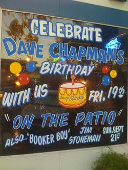 Dave's Birthday Gig!