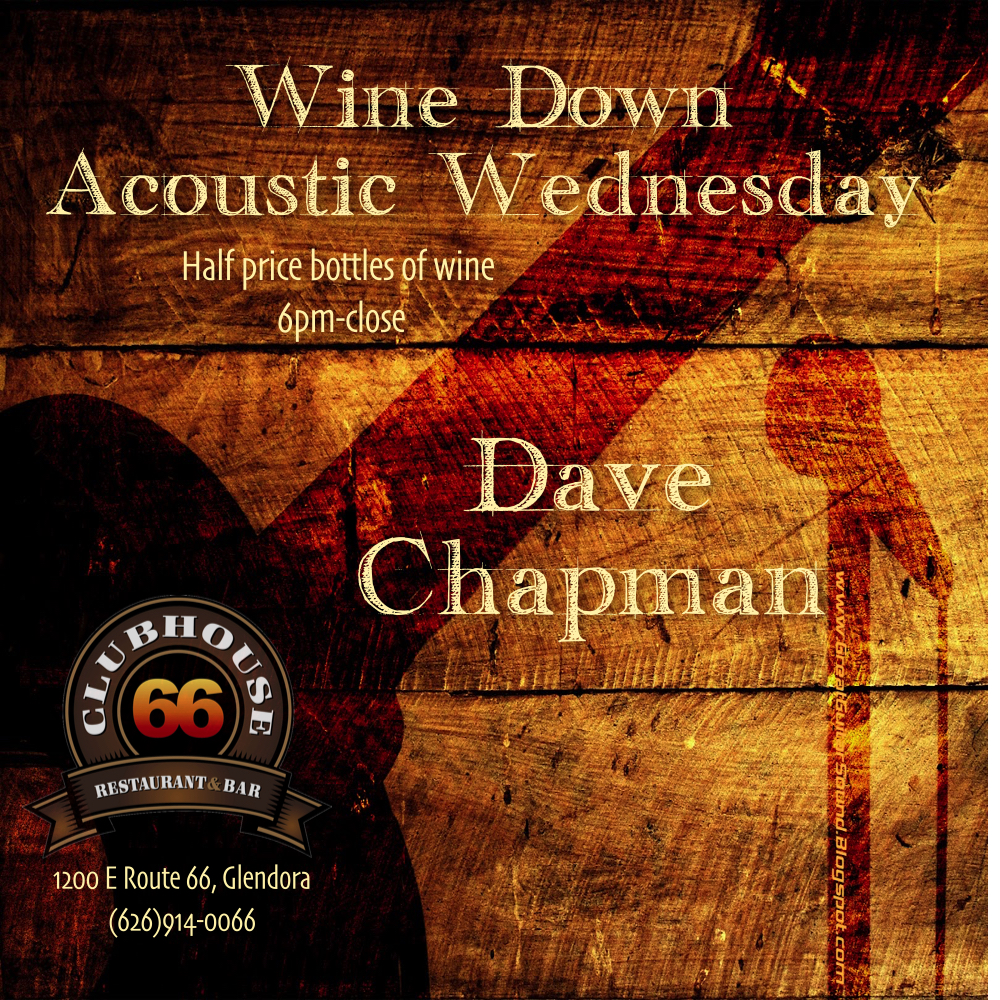 Clubhouse 66 Wine Down Acoustic Weds