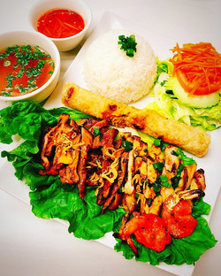 Combination Rice Plate