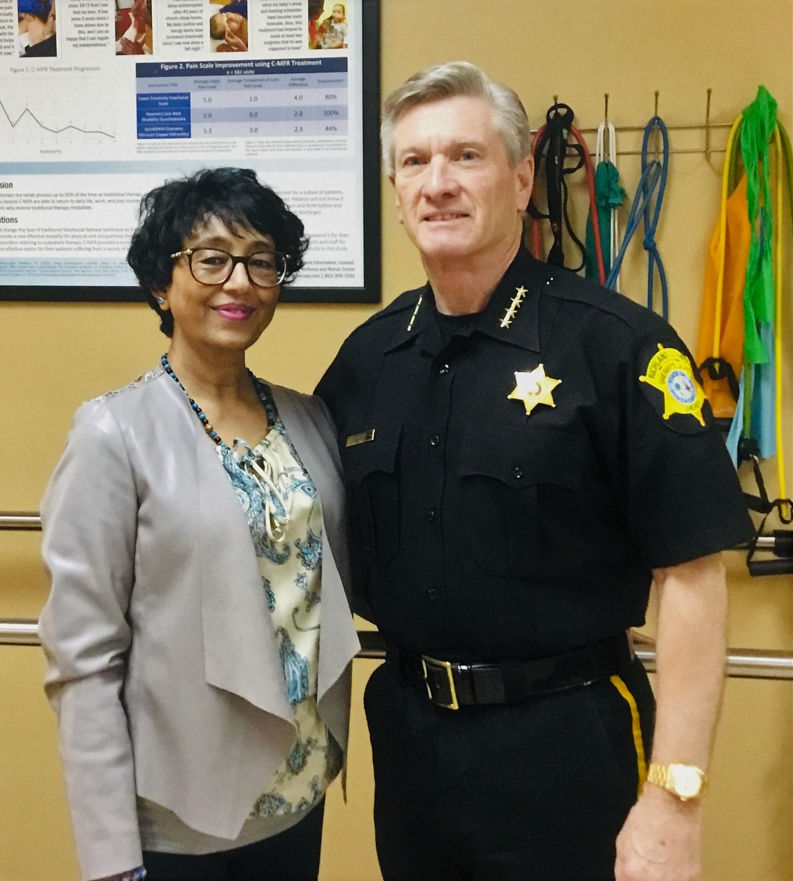 Sheriff Lott & Hima Dalal, OTR/L