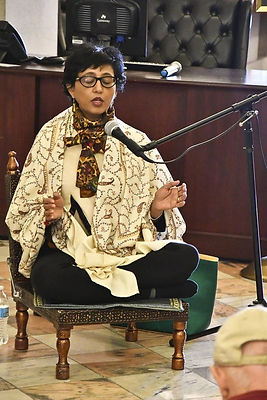 Hima Dalal leading Meditation at the SC State House