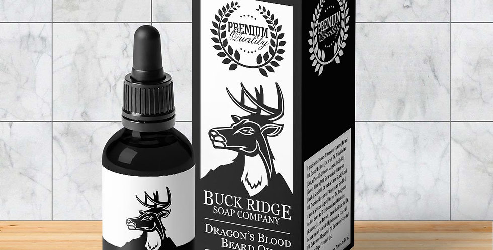 Buck Ridge Dragon's Blood Premium Beard Oil