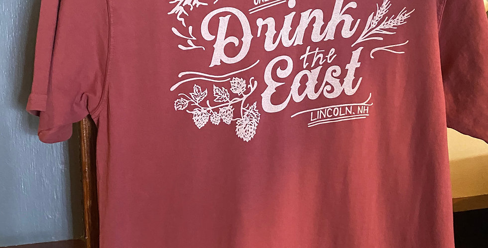Drink the East T -Shirt Rust