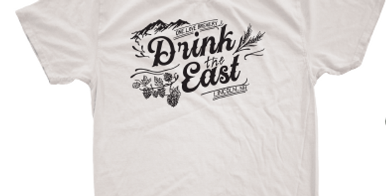 Drink The East T-Shirt Oatmeal