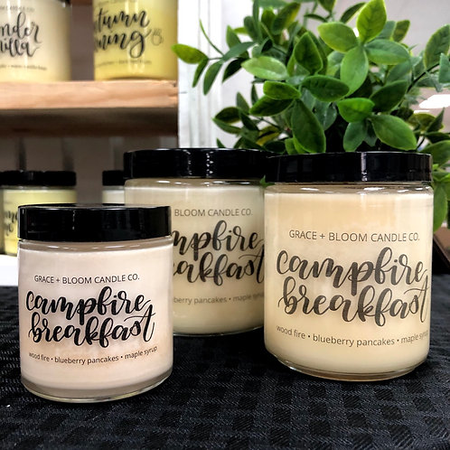 Campfire Breakfast Candle