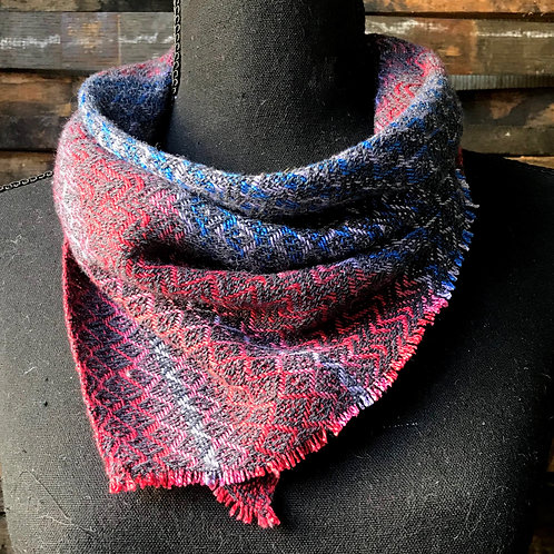 Recycled Denim Handwoven Bandana