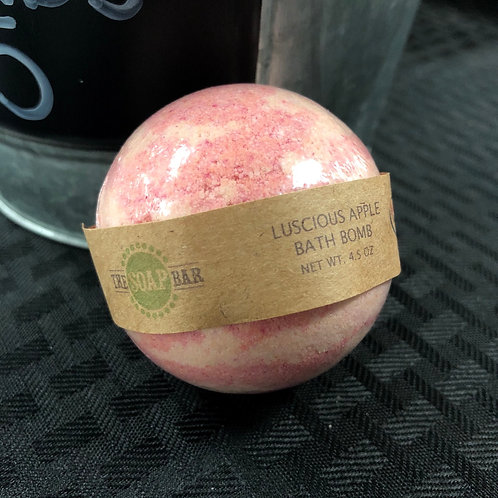 Luscious Apple Bath Bomb