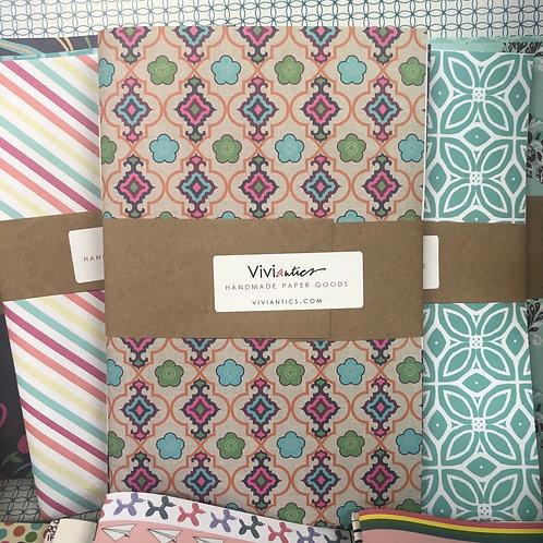 Set of 3 Large Notebooks