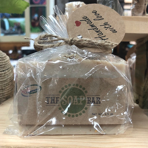 Gentle Oats Handmade Bar Soap